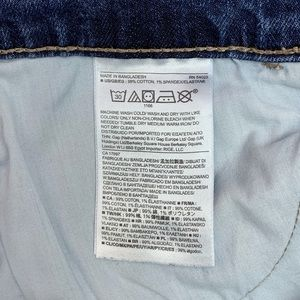 Banana Republic Factory Jeans - BANANA REPUBLIC Skinny Fit Roll Cropped Jeans 29/8